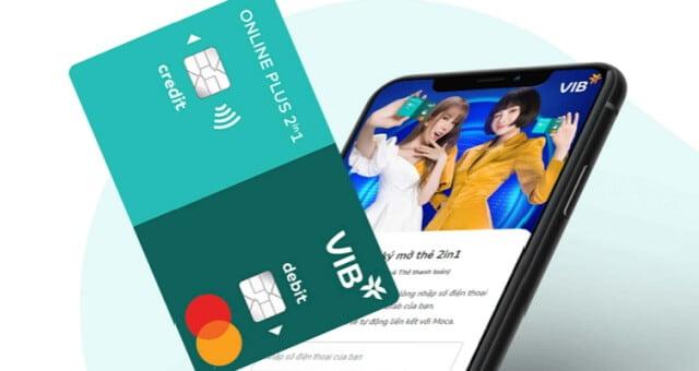 hướng dẫn mở thẻ tín dụng vib online plus
