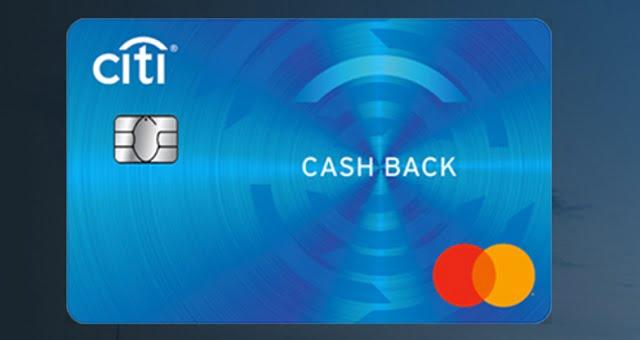 Thẻ tín dụng Citibank Cash Back
