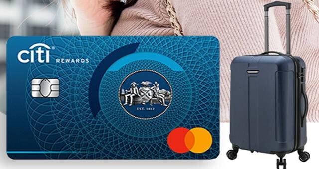 mở thẻ tín dụng citibank tặng vali