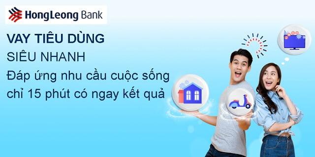 vay tín chấp hong leong bank